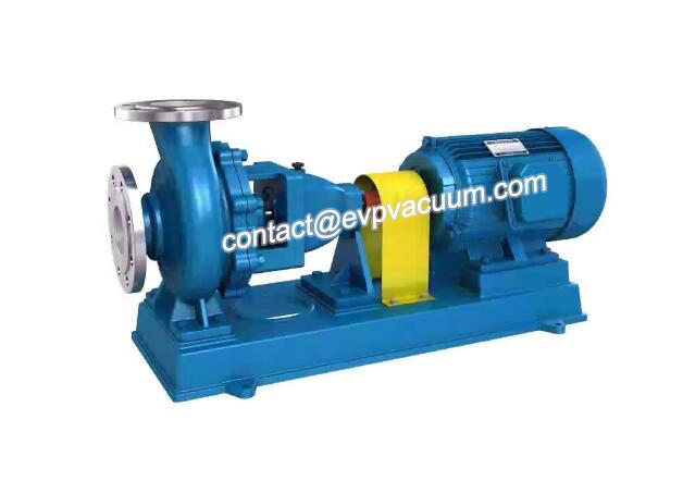 Chemical plant pump