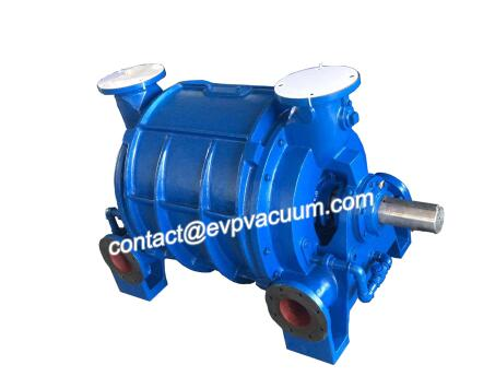Cone two-stage liquid ring vacuum pump
