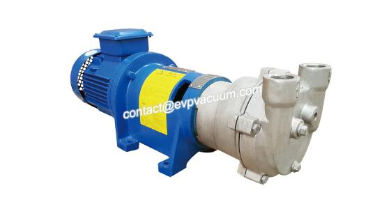 Liquid ring vacuum pump gas recovery