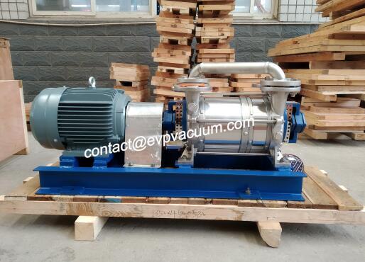 Liquid ring vacuum pump series