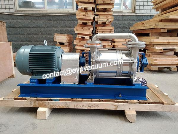 Vacuum extrusion pump