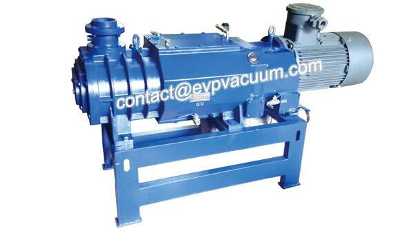 Vacuum screw pump