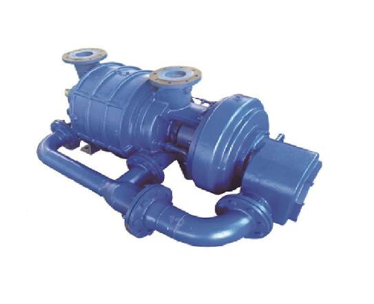 cone-two-stage-water-ring-vacuum-pump-in-power-plant