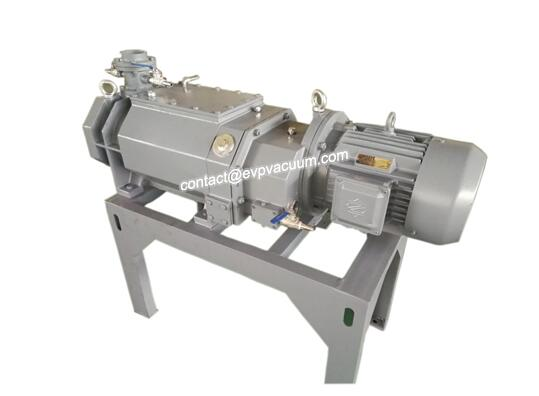 Dry screw vacuum pumps are used in the battery industry