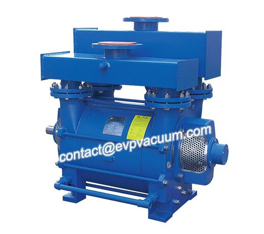Liquid ring vacuum pump for filter separator