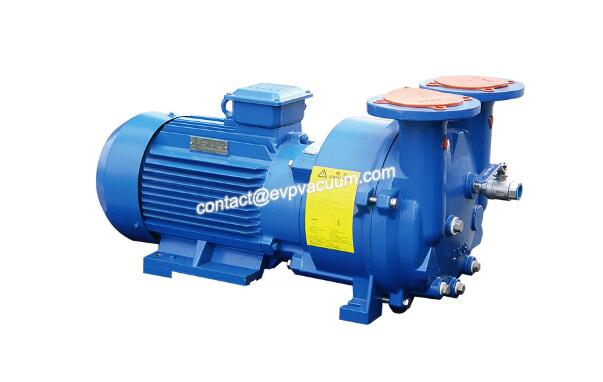 Liquid ring vacuum pump for vacuum storage