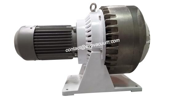 Oil-free compact scroll pump