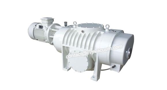 Roots vacuum pump in transportation and storage