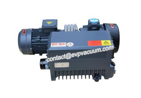 Rotary vane vacuum pump in pasta factory