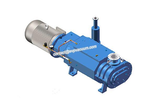Screw vacuum pump in aromatics extraction