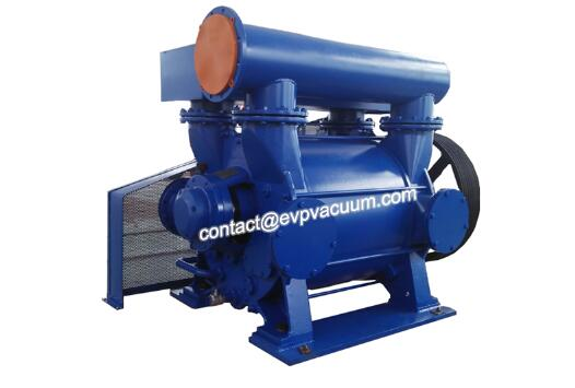Vacuum pump for polyester production
