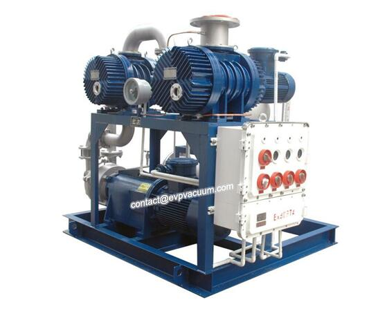 Vacuum system is used in brick and tile industry