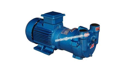 How to use the vacuum pump liquid to degas?