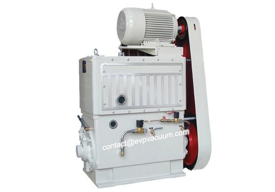 Piston vacuum pump in electron beam melting furnace