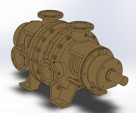 LRC-20 Liquid Ring Compressor