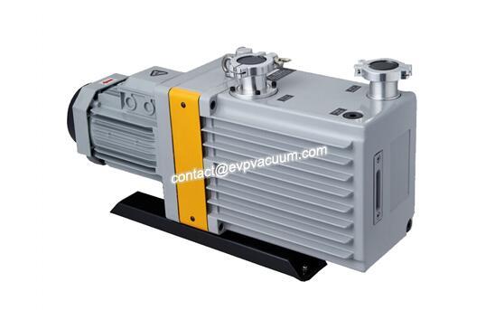 Rotary vane vacuum pump in sintering