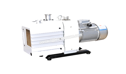 Rotary vane vacuum pump in western medicine production