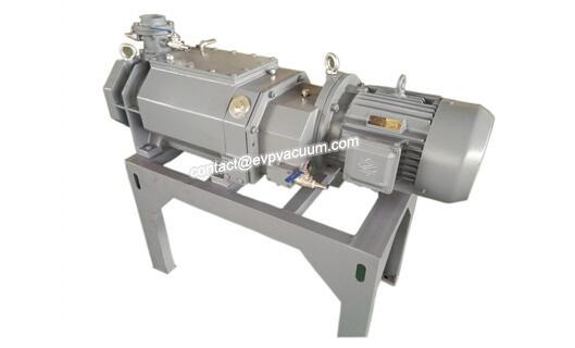 Screw vacuum pump in flat panel display