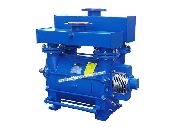 Vacuum conveying of water ring vacuum pump