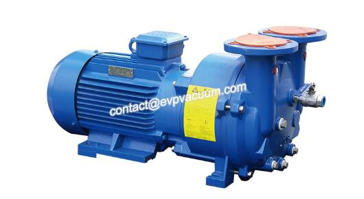 Vacuum pump for milk factory