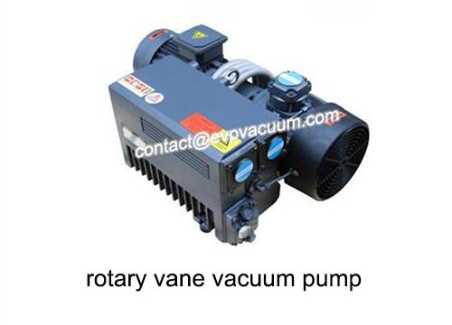 Vacuum pump in demineralized brine