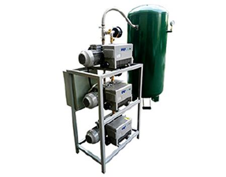 Vacuum system for tool making