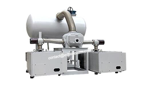 Vacuum system in electronic chemicals