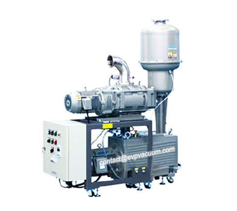 Vacuum unit for oxygen filling system