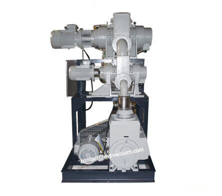 Vacuum unit in coal tar