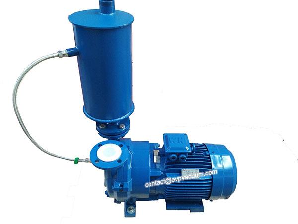 liquid-ring-vacuum-pump-with-water-separator