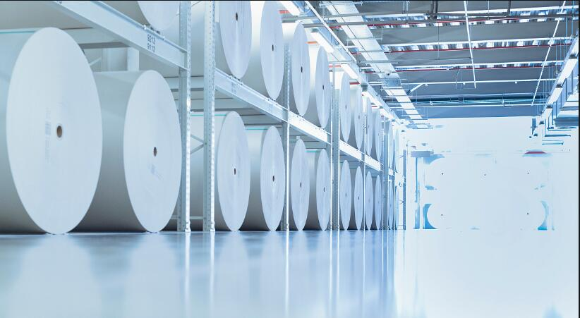 Vacuum system of paper products processing