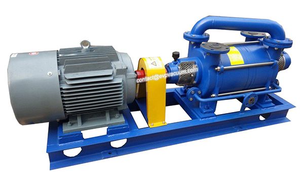 large-double-stage-water-ring-vacuum-pump