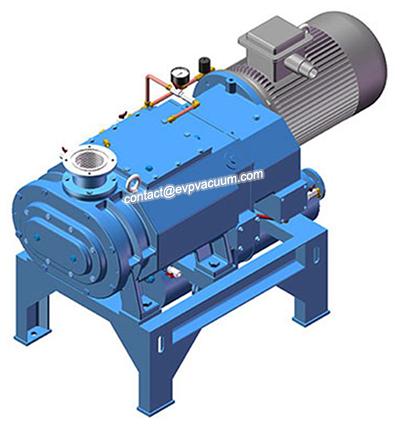 Dry screw vacuum pump of proper use