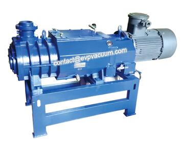 Screw vacuum pump works