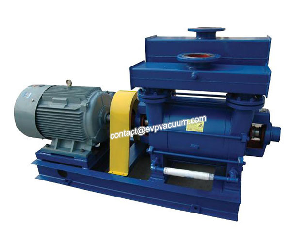 Improve water ring vacuum pump of vacuum pumping capacity