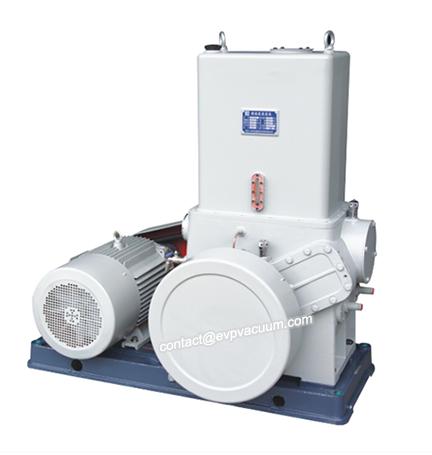 Piston vacuum pump operating principle