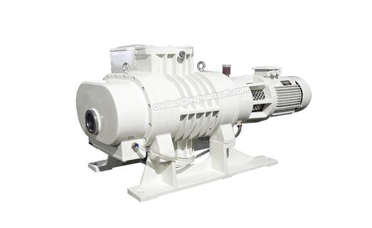 Roots vacuum pump in hydrocarbon cleaner