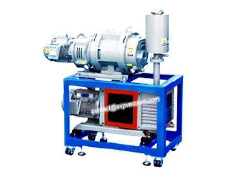Vacuum system in grease deodorization