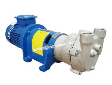 Water ring pump sediment filter