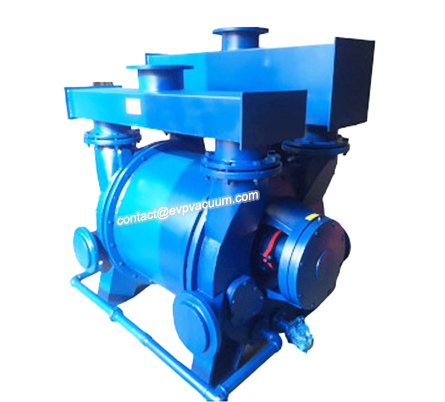 Water ring vacuum pump of condenser principle and operation