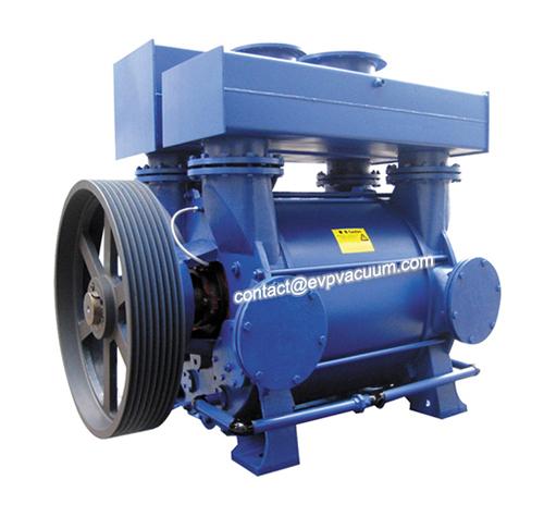 Water ring vacuum pump seal leakage analysis