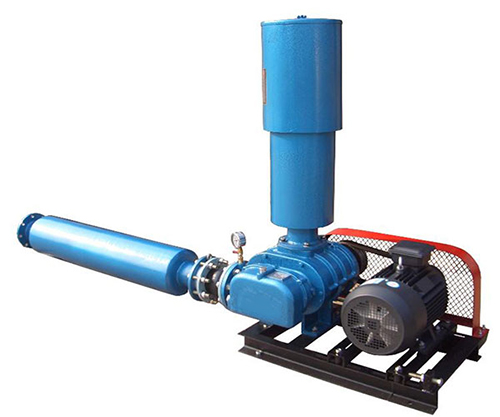 Water treatment roots blowers