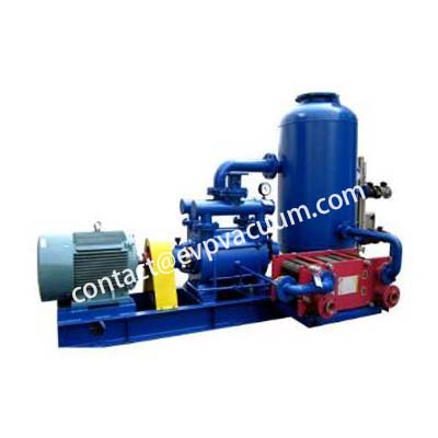 Water ring vacuum pump closed cycle system
