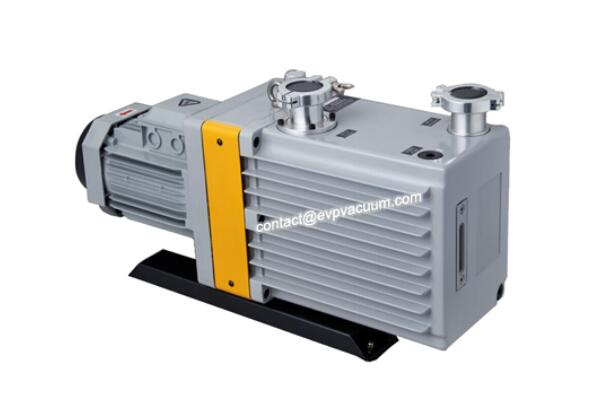 vacuum pump in touch steaming process