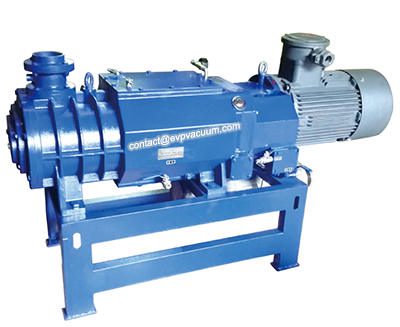 Dry running vacuum pumps