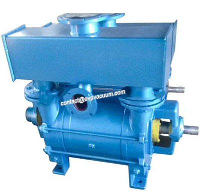 How does liquid ring vacuum pump form liquid ring