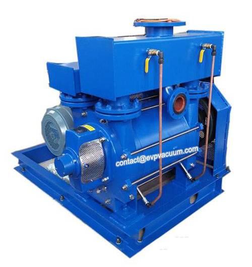 Liquid ring pump for plastic/paper/leathger products