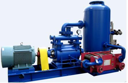 Vacuum pump unit