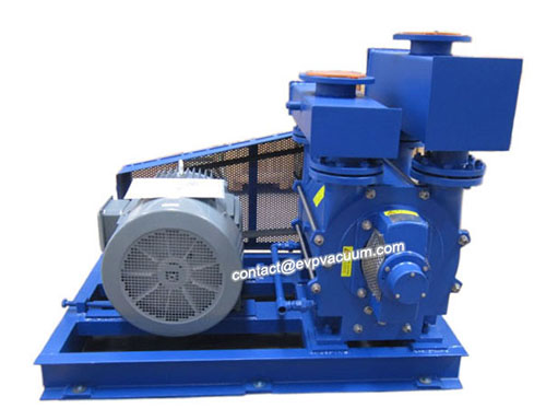 belts-driven-liquid-water-ring-vacuum-pump-and-compressor
