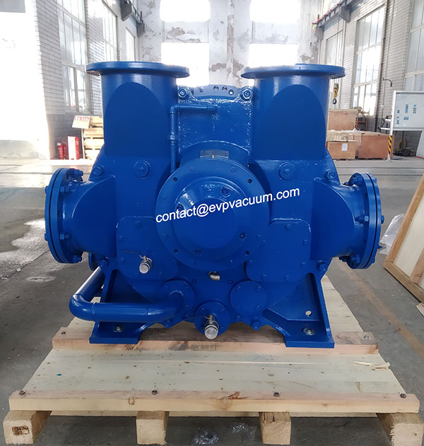 Liquid ring vacuum pump equipment